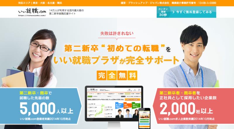いい就職.com - TOP